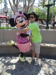 Picture with Minnie Mouse by montey4