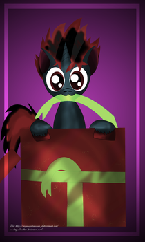 one present for you by MegaSupertacoman-YT