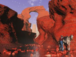 Red Canyon by xmas-kitty