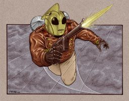 The Rocketeer by 93Cobra