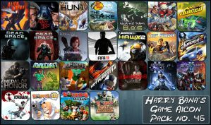 Game Aicon Pack 46 by HarryBana