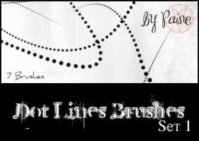 Dot Lines Brushes by NemesisDivina666