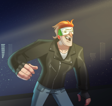 Music Meister Will Steal The Light Show by pink-ninja