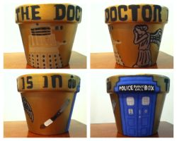 DOCTOR WHO POT by azngirlartist