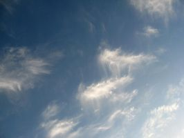 Cirrus Clouds 2 by Zepher-Stock