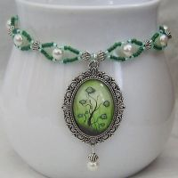 Under The Sea Cameo Choker by Gone-Wishing