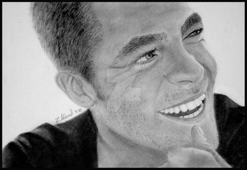 Chris Pine by Zabboud