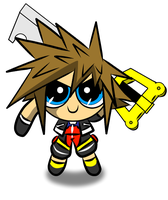 PowerPuff Sora by xxxwingxxx