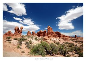 Arches National Park by e1david