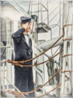 WW2 Sailor on the HMCS Sackville in Halifax by ShawnaMac