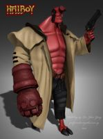 Hellboy redesigned by palp