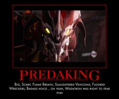 Motivational Poster - Fear Predaking by Soundwave04