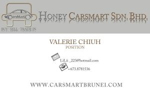 Business Card Sample 1 - Front by ValerieChiuh