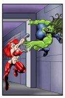 She Hulk Down 2 by andrewr255