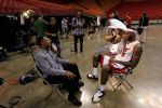 Hanging out on Media Day by FJOJR