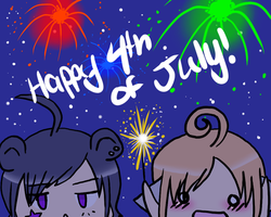 Happy 4th of July! by Nami-Chan1999