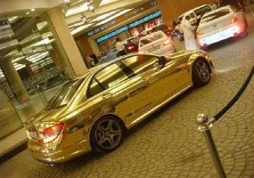 Golden_Car_2 by xxmlbbmm