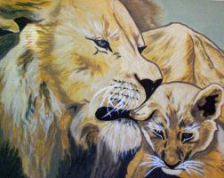 Lions by NikkiMcB