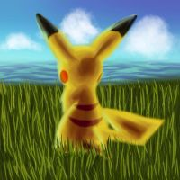 Welcome to Kalos, Pikachu by embae