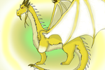 Inheritance Cycle - Glaedr by Ferno123