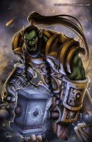 Thrall (World of Warcraft) by SamDelaTorre