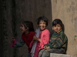 Laughing At The Photographer by InayatShah