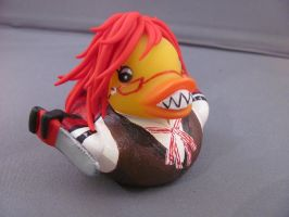 Grell Sutcliffe Duck 3 by spongekitty