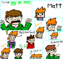 Eddsworld iscribbles by MochaTheDog