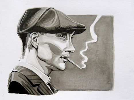 Tommy Shelby by StoneTheCrow87