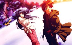 clannad wallpaper 2 (memories series) by agarest-of-war
