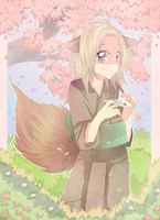 Natsume: The little fox by Kialun
