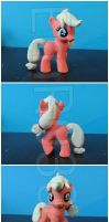 FOR SALE: Young/Filly Apple Jack custom by EmR0304