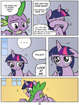 Maybe Later, Spike - 8 by RedApropos