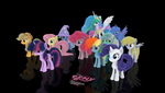 MLP Fluffy - All Together - Version 1 - OLD by VeryOldBrony