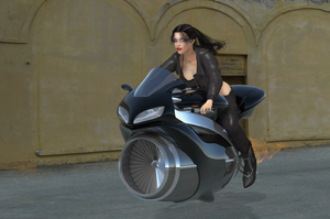 Jetbiking to the future by dullboy