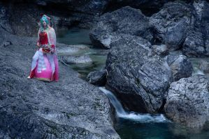 Following the river by Elsa-Cosplay