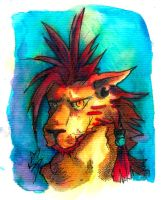 F - Red XIII by stanleyillustration