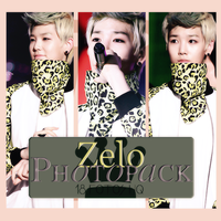 Photopack Zelo- B.A.P. 003 by DiamondPhotopacks