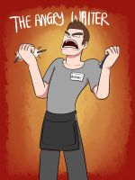 The Angry Waiter by Naixoa