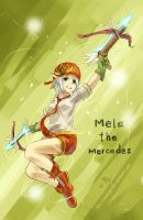 Maplestory- Mela the Mercedes by Gin-Uzumaki