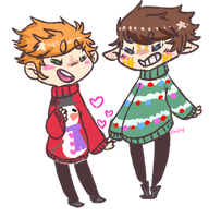 Xmas Nerds by smuppetgay2k14