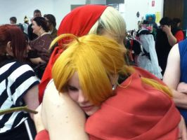 Hugs for Winry by Caramelcat123