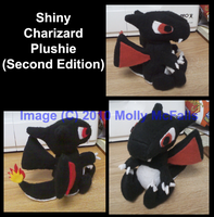 Shiny Charizard Plushie 2 by Tez-Taylor