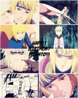 Happy Birthday Minato Namikaze!!! by Before-I-Sleep