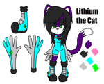 -REF- Lithium the Cat by In2ufferablePriick