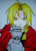Edward Elric by sokar1911