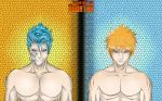 Ichigo and  Grimmjow by Csontra