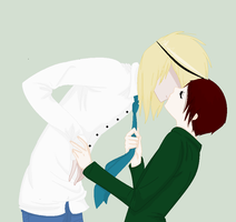 Kiss the Mao .:collab part:. by MisoriFire
