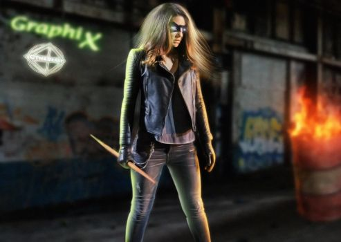 Dinah Drake - Black Canary by cthebeast123