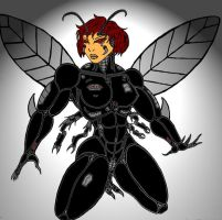 Simone as The Black Cyberbug by Mr-Marcus-81